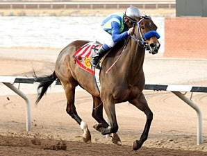 Twelve Twenty Two wins the 2012 El Diario Stakes.