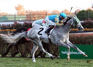 Thorn Song scored his first graded win in the River City (gr. III-T) at Churchill Downs in November.