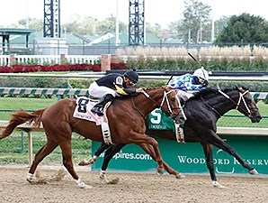 Lucky Player wins the 2014 Iroquois Stakes.