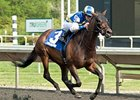 Upperline won the Arlington Matron on Polytrack on May 26.