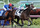 "Merry Meadow comes home strong to win the Sugar Swirl Stakes.<br><a target=""blank"" href=""http://photos.bloodhorse.com/AtTheRaces-1/At-the-Races-2014/i-GLfWLZB"">Order This Photo</a>"