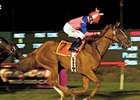 "Lady of Venice, shown winning the 2007 Cash Call Mile, will try to defend her title in this year's version.<br><a target=""blank"" href=""http://www.bloodhorse.com/horse-racing/photo-store?ref=http%3A%2F%2Fpictopia.com%2Fperl%2Fgal%3Fprovider_id%3D368%26ptp_photo_id%3D1634549%26ref%3Dstory"">Order This Photo</a>"