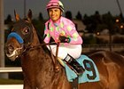 Liaison won the CashCall Futurity at Hollywood Park as a 2-year-old.