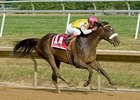 Grace Hall Dominates Delaware Oaks