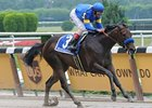 "Indian Blessing is headed to Ballerina.<br><a target=""blank"" href=""http://www.bloodhorse.com/horse-racing/photo-store?ref=http%3A%2F%2Fpictopia.com%2Fperl%2Fgal%3Fprovider_id%3D368%26ptp_photo_id%3D5030846%26ref%3Dstory"">Order This Photo</a>"
