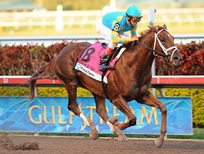 Eskendereya Leads Florida Derby Workers