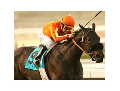 Teddy's Promise and Victor Espinoza upset the La Brea at Santa Anita.