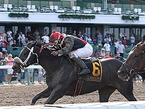 Lil Kiara wins the 2012 Open Mind Handicap.