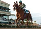 "This Ones for Phil is in control in the Sunshine Millions Dash.<br><a target=""blank"" href=""http://www.bloodhorse.com/horse-racing/photo-store?ref=http%3A%2F%2Fpictopia.com%2Fperl%2Fgal%3Fprovider_id%3D368%26ptp_photo_id%3D7535422%26ref%3Dstory"">Order This Photo</a>"