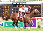 Mr. Nightlinger Sets Arlington Turf Mark