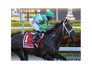 "Soldat is the morning-line favorite in the Florida Derby.<br><a target=""blank"" href=""http://www.bloodhorse.com/horse-racing/photo-store?ref=http%3A%2F%2Fpictopia.com%2Fperl%2Fgal%3Fprovider_id%3D368%26ptp_photo_id%3D9423449%26ref%3Dstory"">Order This Photo</a>"