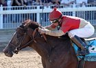 Bourbon Courage won the Super Derby by 5 lengths on Sept. 8.