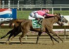 Blind Luck winning the Delaware Handicap.