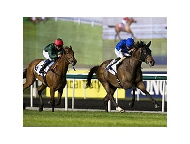 Sajjhaa winning the Balanchine and defeating Igugu.
