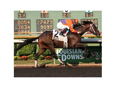 My Pal Charlie won the 2008 Super Derby.