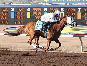 Endorsement wins the 2010 Sunland Derby.