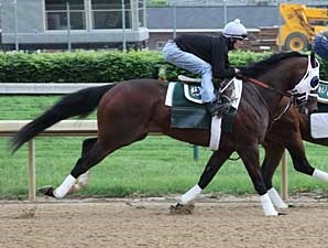 Flying Private works at Churchill Downs on May 11
