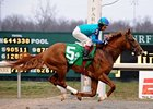 "Adriano cruises to victory in the Lane's End Stakes under Edgar Prado.<br><a target=""blank"" href=""http://www.bloodhorse.com/horse-racing/photo-store?ref=http%3A%2F%2Fpictopia.com%2Fperl%2Fgal%3Fprovider_id%3D368%26ptp_photo_id%3D3940040%26ref%3Dstory"">Order This Photo</a>"