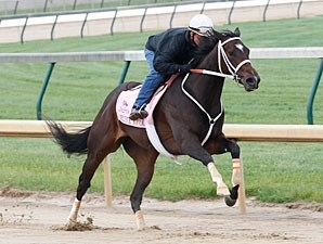 Believe You Can works at Churchill Downs 4/29/2012