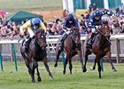 "Reckless Abandon (right) fights off Moohaajim (yellow silks) to win the  Vision.ae Middle Park Stakes.<br><a target=""blank"" href=""http://photos.bloodhorse.com/AtTheRaces-1/at-the-races-2012/22274956_jFd5jM#!i=2146850508&k=MtzNHDn"">Order This Photo</a>"