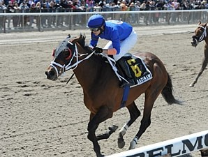 Saginaw wins the 2012 Carr Heaven Stakes.