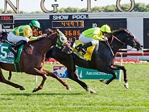 Dandino Seals Deal in American St. Leger