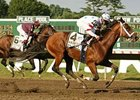 Haskell winner Big Brown went 5 furlongs in 1:04 3/5 Aug. 28 in preparation for the $500,000 Monmouth Stakes Sept. 13.