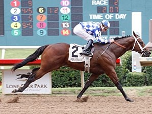 Sword Trick wins the 2011 TX Stallion Stakes (Staunch Avenger Division).
