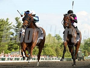 Pachattack (left) wins the 2012 Doubledogdare.