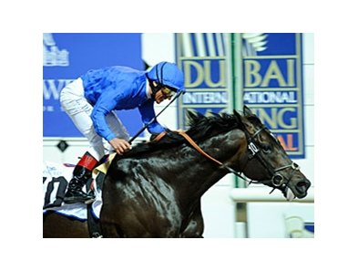 Jalil stormed his way into the Dubai World Cup picture with a decisive 1 1/2-length victory in the Al Maktoum Challenge-Round 3.