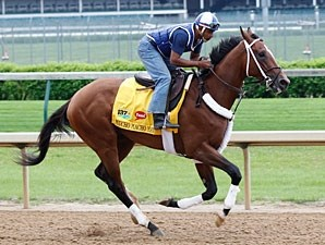 Mucho Macho Man Churchill Downs 04/19/11..