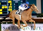 Always In My Heart winning the Sam Houston Distaff.
