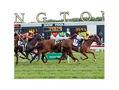 Racing at Arlington Park