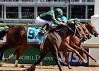 "Intangaroo prevailed in a tight finish the Humana Distaff (gr. I) in her most recent start. <br><a target=""blank"" href=""http://www.bloodhorse.com/horse-racing/photo-store?ref=http%3A%2F%2Fpictopia.com%2Fperl%2Fgal%3Fprovider_id%3D368%26ptp_photo_id%3D4422134%0D%0A%26ref%3Dstory"">Order This Photo</a>"