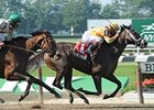 Her Smile Skims Rail, Wins Prioress