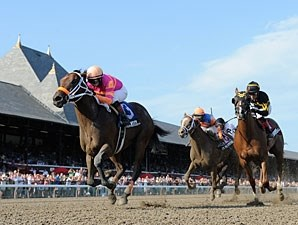 Bern Identity wins the Sanford Stakes.