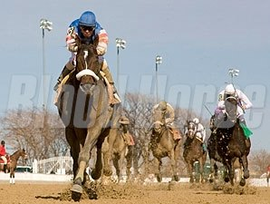 Musket Man wins the 2009 Illinois Derby.
