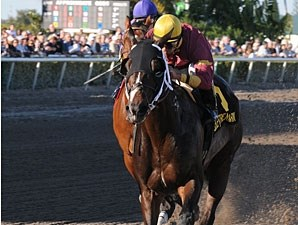 Big Drama wins the 2011 Mr. Prospector.
