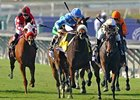 Flotilla Flies Home in Juvenile Fillies Turf