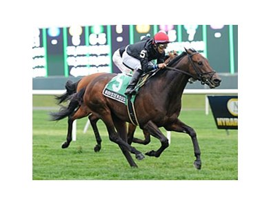 Boisterous won the Fort Marcy by a length on May 5.