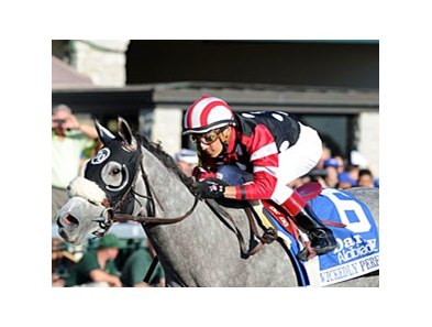 "Wickedly Perfect and Rafael Bejarano are on cruise control in the Darley Alcibiades. <br><a target=""blank"" href=""http://www.bloodhorse.com/horse-racing/photo-store?ref=http%3A%2F%2Fpictopia.com%2Fperl%2Fgal%3Fprovider_id%3D368%26ptp_photo_id%3D9225175%26ref%3Dstory"">Order This Photo</a>"