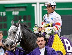 Kip Deville takes the 2007 Breeders' Cup Mile.