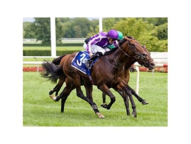 Treasure Beach outfinishes Ziyarid to win the Secretariat.