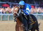 "Emcee won the 2012 Forego. <br><a target=""blank"" href=""http://photos.bloodhorse.com/AtTheRaces-1/at-the-races-2012/22274956_jFd5jM#!i=2061176950&k=jVr324C"">Order This Photo</a>"