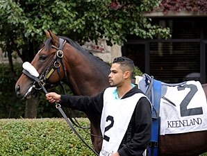 Lentenor Third in Return at Delaware