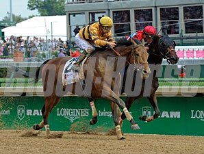 Successful Dan wins the 2012 Alysheba.