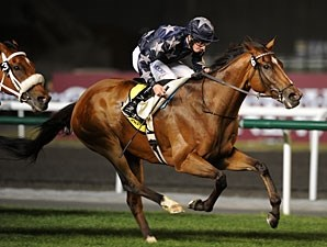 Presvis wins the 2011 Dubai Duty Free.