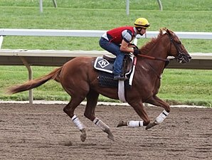 Dullahan Drills Sharply for Pacific Classic