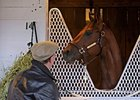 "Smooth Air with trainer Bennie Stutts.<br><a target=""blank"" href=""http://www.bloodhorse.com/horse-racing/photo-store?ref=http%3A%2F%2Fgallery.pictopia.com%2Fbloodhorse%2Fsearch%2F%3Fq%3DSmooth%2BAir"">Order Photos</a>"