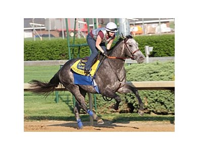Conveyance worked five furlongs in 1:00.60 at Churchill Downs on April 15.